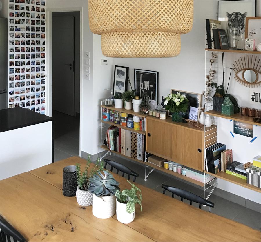 Décoration intérieure d'une salle à manger réalisée par une décoratrice près d'Annecy