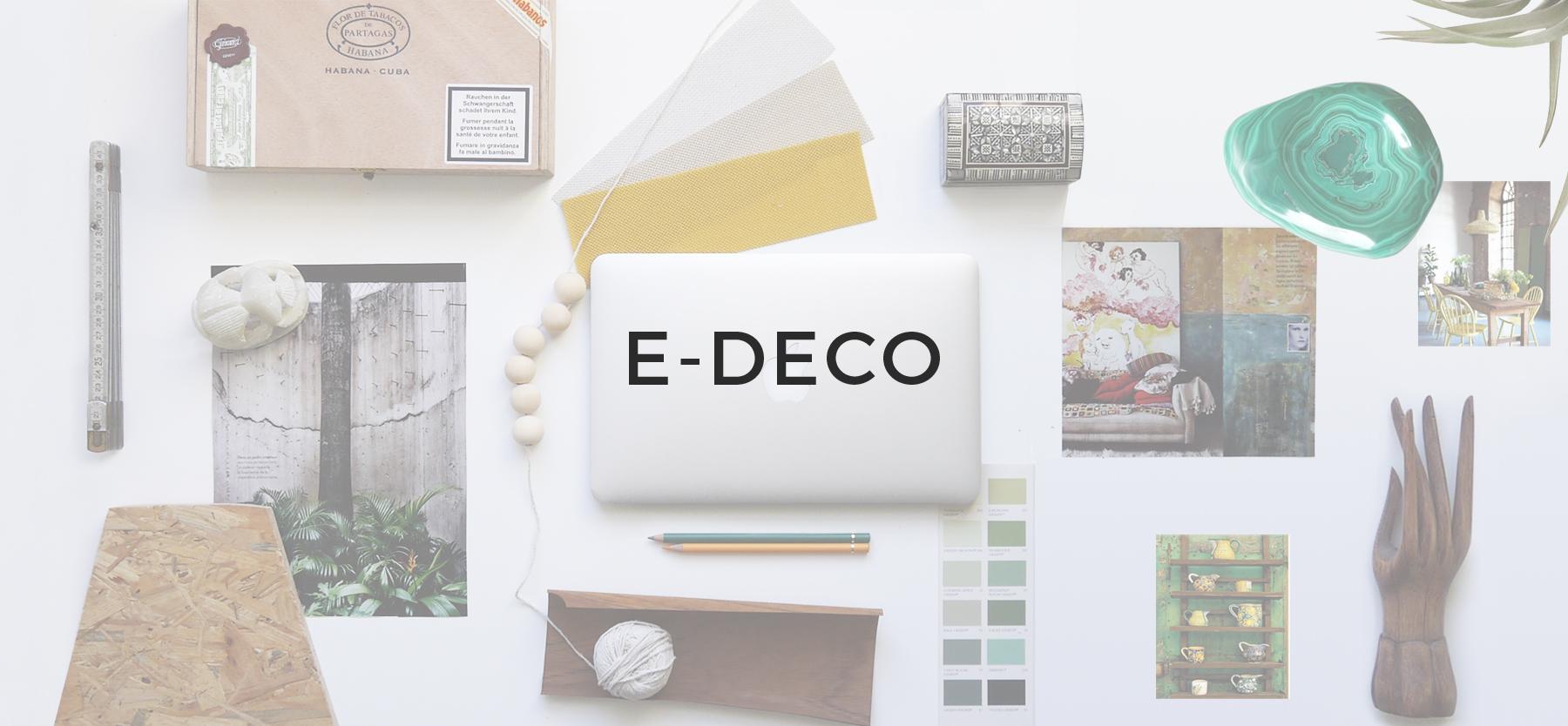 Moodboard, planche d'inspiration de décoration jaune et verte