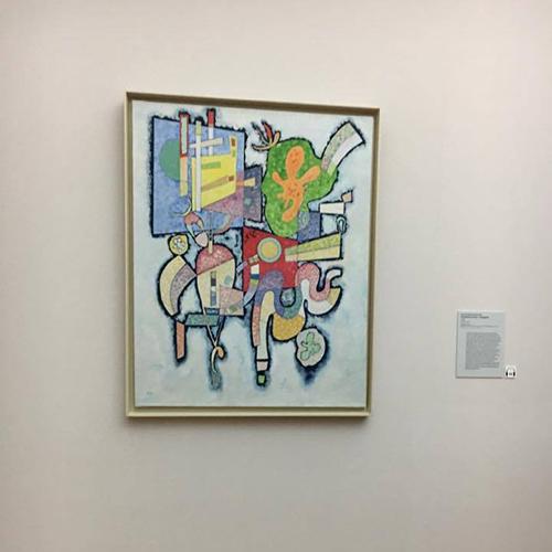 "Kandinsky, ""complexité simple (ambiguïté)"", 1939"