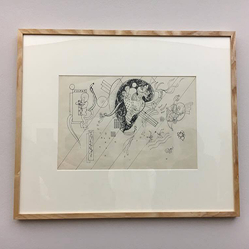 "Kandinsky, ""Dessin d'étude"", 1939"