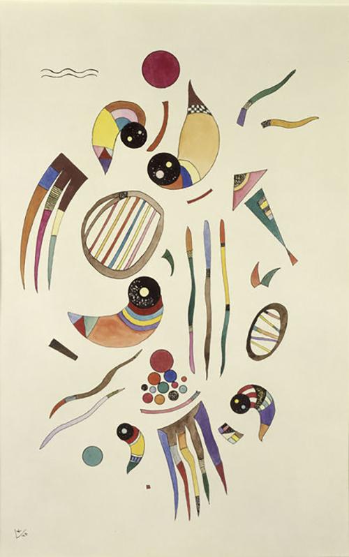 "Kandinsky, ""Sans Titre"", 1940"