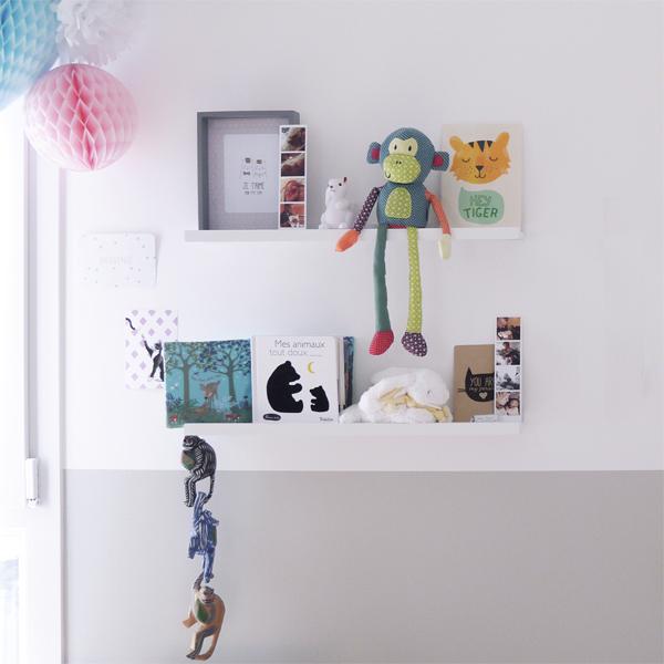décoration douce d'une chambre d'enfant