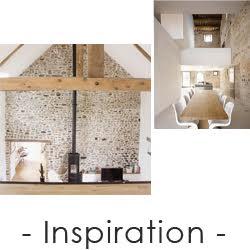Inspiration décoration intérieur rustique pierre apparente
