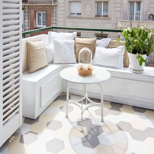 aménagement balcon sur mesure