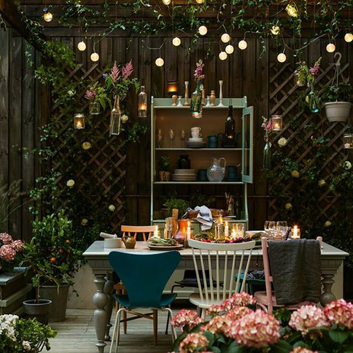 balcon jungle urbaine inspiration gypsy fleur et lumière guingette