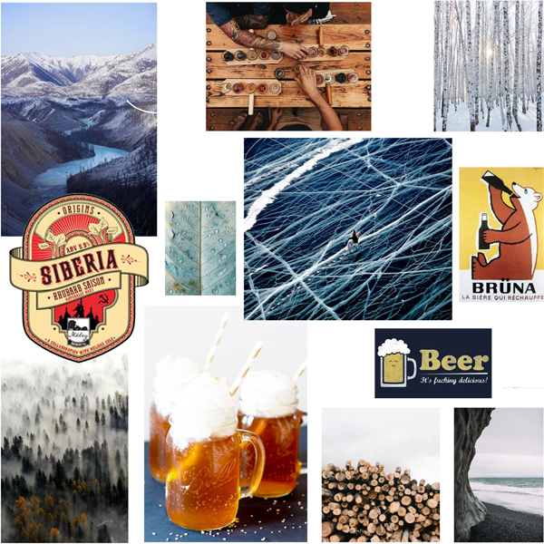 SIBEERY, Comptoir de la bière pression - Planche tendance -
